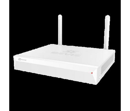 Gravador NVR Wi-Fi NVR - 4 CH vídeo / Co