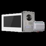 Kit de Videoporteiro - Tecnologia 2 fios HW-DS-KIS701-W