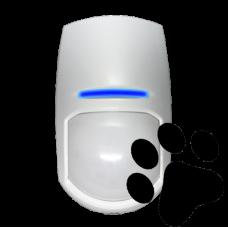 Detector PIR dupla tecnologia - Imune a