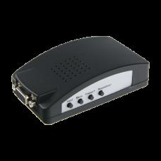 Adaptador de vídeo - Entradas: VGA, SVID